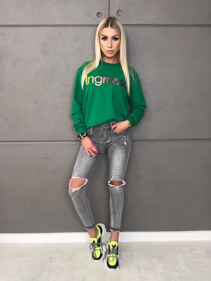 zielona bluza Ingrosso