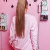 bluza damska asymetryczna famme jasny roz (1)
