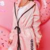 plaszczyk kurtka amour do kolana damski jasny roz (1)