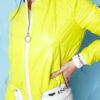 kurtka bomberka damska pikowana ze sciagaczem ingrosso limonkowa (1)