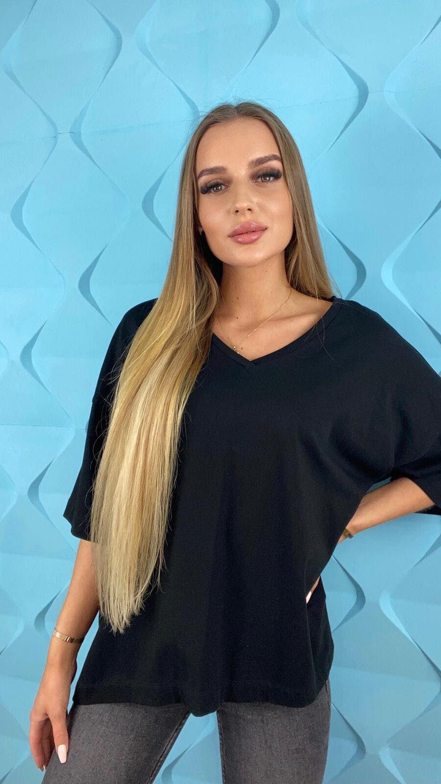 koszulki tshirty damskie duze rozmiary czarna